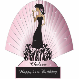 Diva Party Girl Photo Cut Outs
