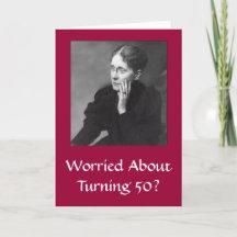 Diva's 50th Birthday Card for Women