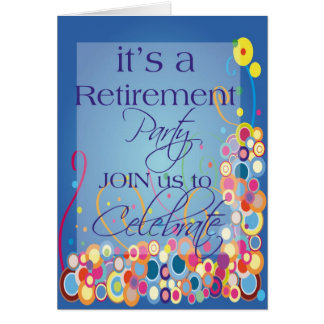 Diva's Retirement Party Invitation Greeting Card