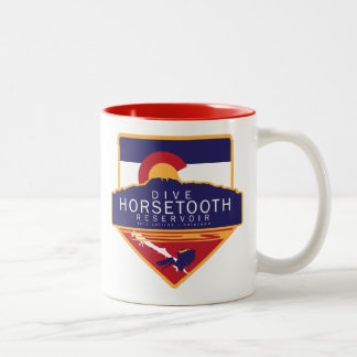Dive Horsetooth Reservoir Mug