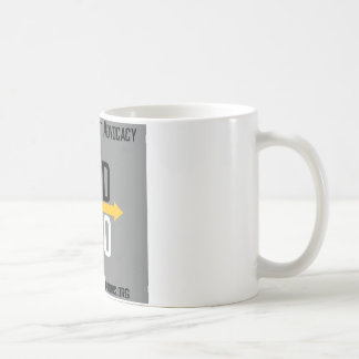 Divergent Options Square Logo Mug