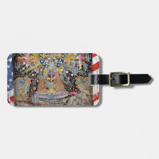 Divided We Stand  by TEO Luggage Tag