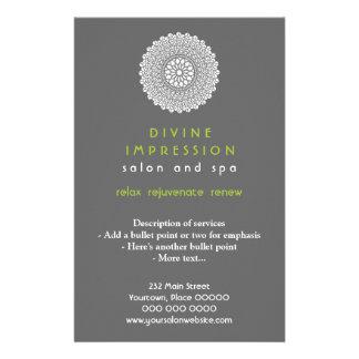 Divine Green Impression Vertical Full Color Flyer