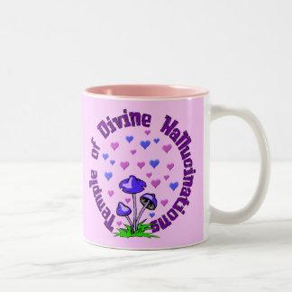 Divine Hallucination Temple Two-Tone Coffee Mug
