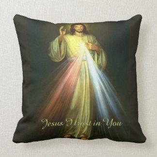 Divine Mercy Jesus I Trust in You Cushion