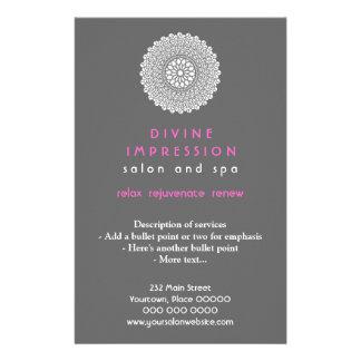 Divine Pink Impression Vertical Custom Flyer
