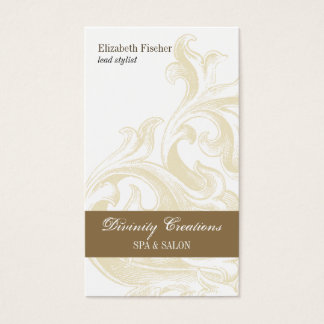 Divine Sconce Salon Appointment Business Card