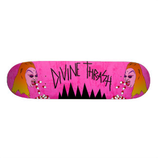 Divine Thrash by Demonbabies Custom Skateboard