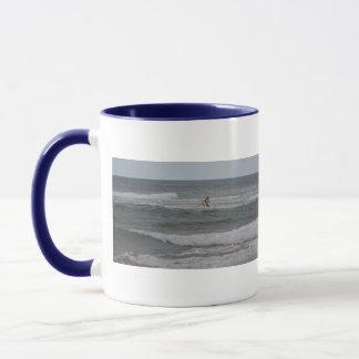 Diving Brown Pelican Mug