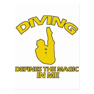 diving DESIGNS Postcard