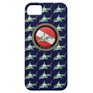 diving flag shark pattern iPhone 5 cover