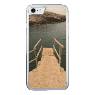 Diving place carved iPhone 8/7 case