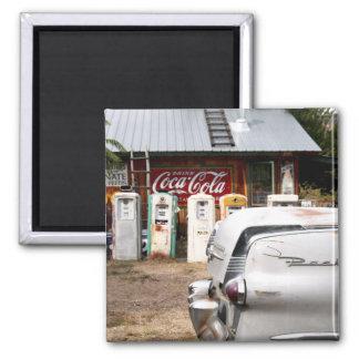 Dixon, New Mexico, United States. Vintage car Magnet