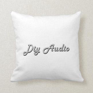 Diy Audio Classic Retro Design Cushion