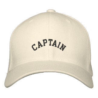 DIY Captain, Vessel ...embroidered hat Embroidered Hats