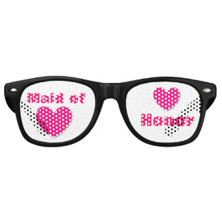 DIY Create Your Own MAID of HONOR Party Shades A61