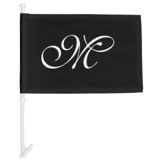 DIY - Customize your monogram, image, & ideas Car Flag