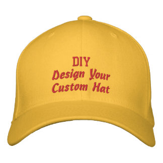 DIY Design Your Own Custom Accesssory V5 Embroidered Baseball Cap