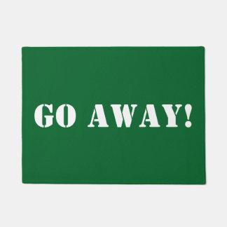 DIY Go Away! Doormat/DIY color Doormat