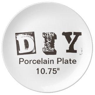 """DIY - Porcelain Plate 10.75"""""""