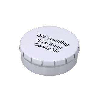 DIY Snip Snap Candy Tin