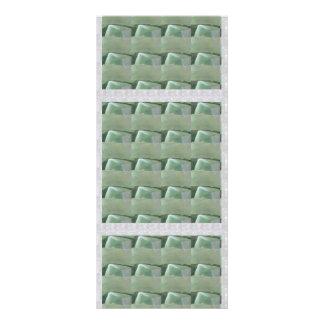 DIY TEMPLATE 1 side blank UNIQUE GRAPHIC PORTFOLIO 10 Cm X 23 Cm Rack Card