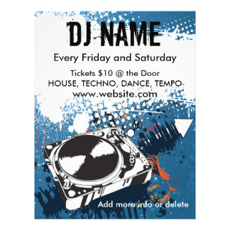 DJ Grunge Music Flyer