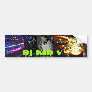 DJ Kid V Bumper Sticker