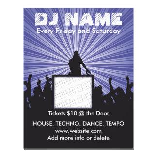 DJ Name Music Flyer