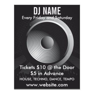 DJ Name Speaker Music Flyer
