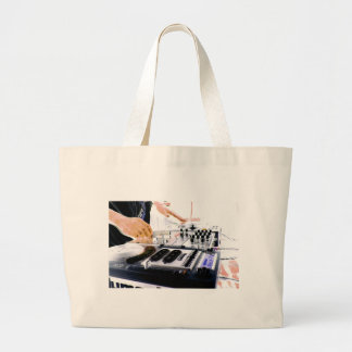 DJ System Large Tote Bag