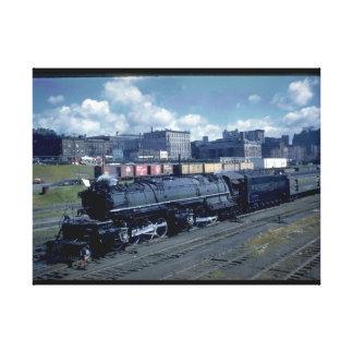 DM&IR 2-8-8-4 Mallet #224_Trains Canvas Print