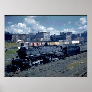 DM&IR 2-8-8-4 Mallet #224_Trains Poster