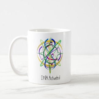 DNA Activated Atom Coffee Mug