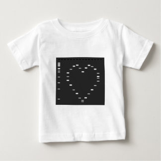 DNA heart on agarose gel Baby T-Shirt