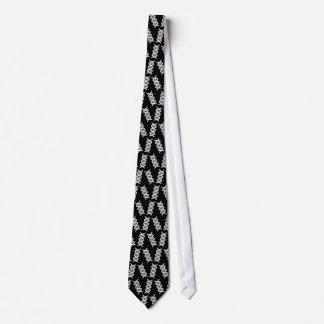 DNA helix pattern Tie