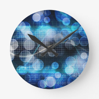 DNA Medical Science Round Clock