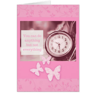 Do Anything Greeting Card