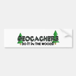 Do it in the Woods! Bumper Sticker