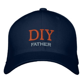 Do-It-Yourself Father Embroidered Hats