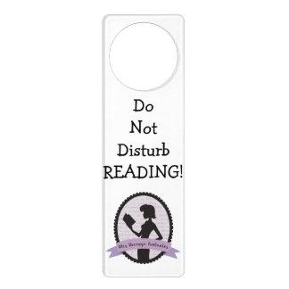 Do Not Disturb - Reading! Door Knob Hanger