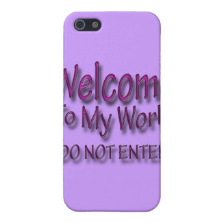 Do Not Enter pnk iPhone 5/5S Cover