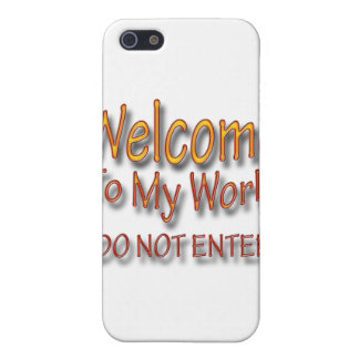 Do Not Enter ylw iPhone 5 Case