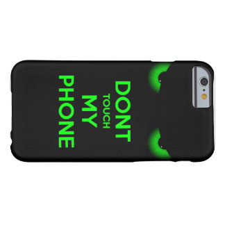 do not touch barely there iPhone 6 case