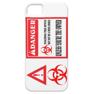 Do not touch the phone. barely there iPhone 5 case