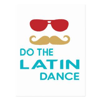 Do the Latin Dance Post Card