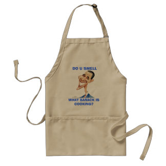 DO U SMELL, WHAT BARACK IS COOKING? STANDARD APRON