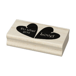 Do What You Love 3 Rubber Stamp