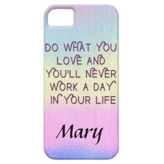 Do What You Love Motivational Quote Cases iPhone 5 Case