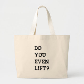 Do you even lift bags